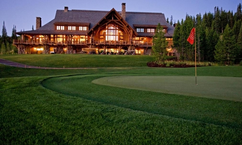 Spanish Peaks Big Sky Montana Real Estate Golf
