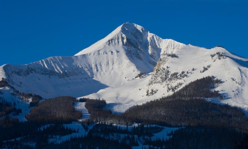 Big Sky Montana Resort Winter