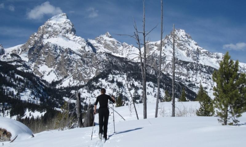 Jackson Hole Wyoming Cross Country Skiing