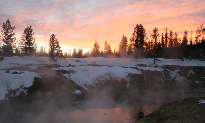 Huckleberry Hot Springs Jackson Wyoming Grand Teton National Park