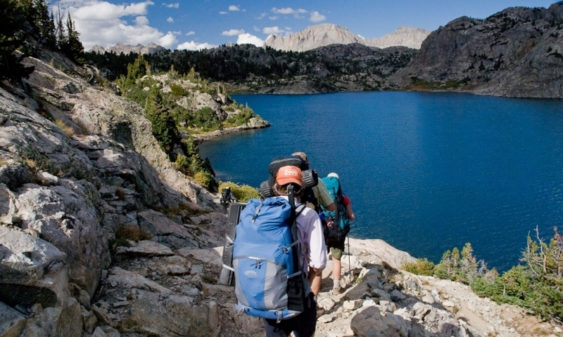 Wind River Mountain Range Wyoming Backpacking Lake