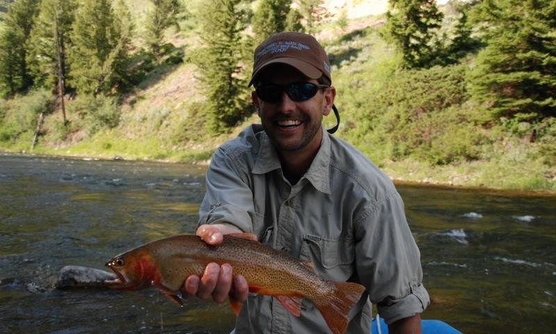 Hoback Canyon River Jackson Wyoming Fishing