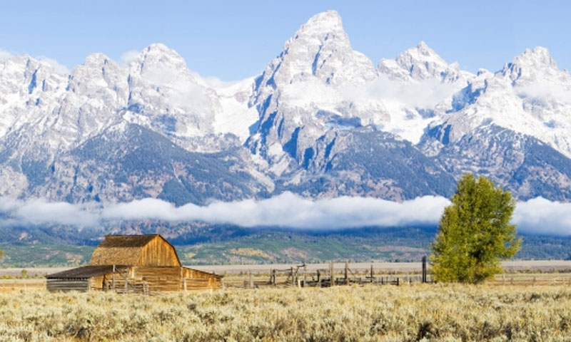 Mormon Row In Grand Teton National Park Alltrips