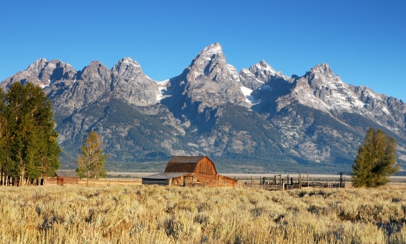Mormon row in grand teton national park alltrips for Jackson hole summer vacation