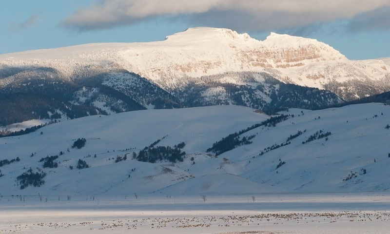 Sleeping Indian Mountain Jackson Hole Wyoming Alltrips