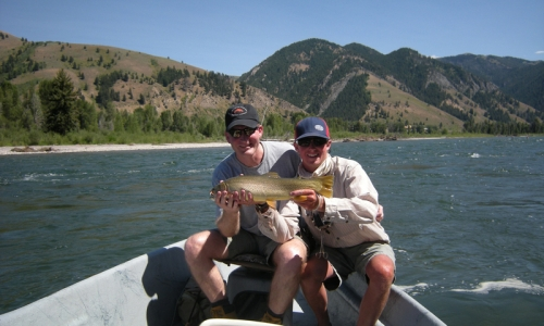 Fly Fishing Snake River