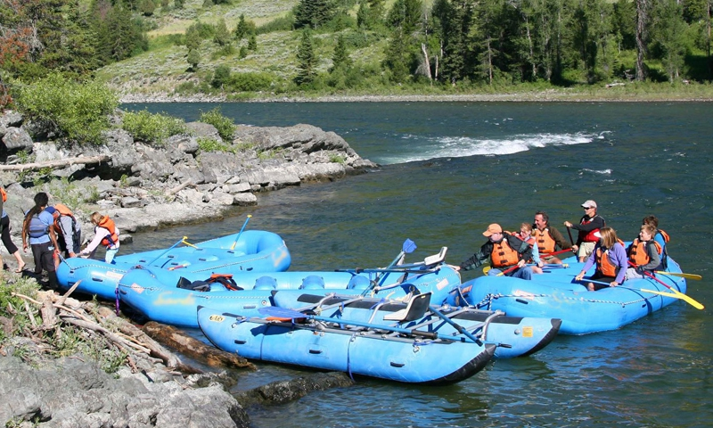 Grand Teton Float Trips