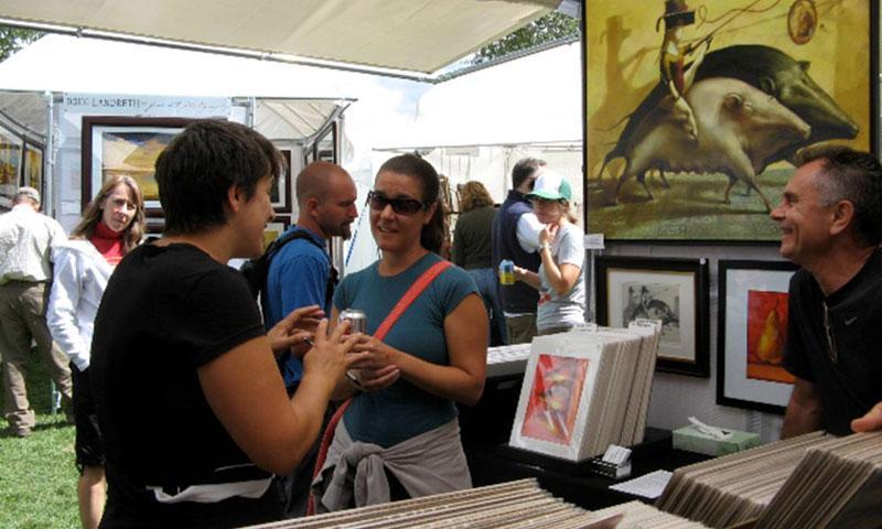 Jackson Hole summer Art Fair