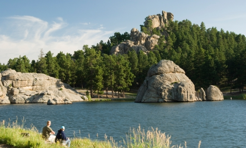 Black Hills South Dakota Sylvan Lake