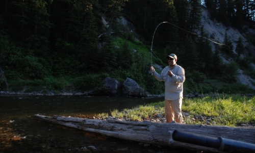 Hoback Canyon River Jackson Wyoming Fishing