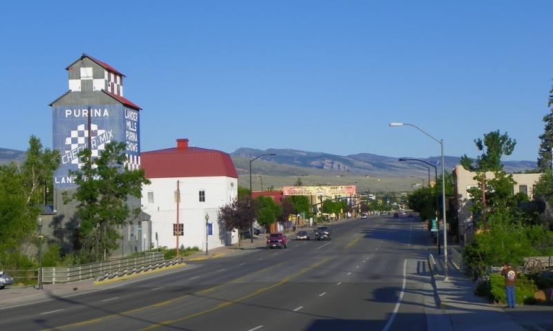 Lander Wyoming Downtown