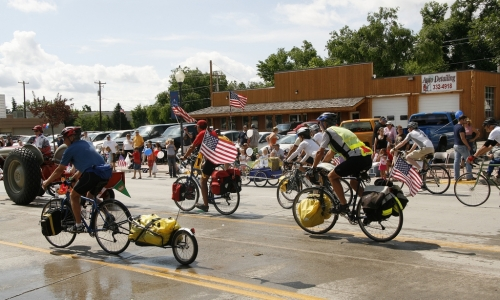 4th of July Parade in Lander Wyoming