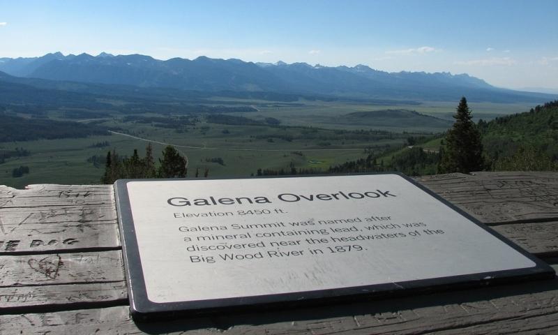 Galena Summit Overlook