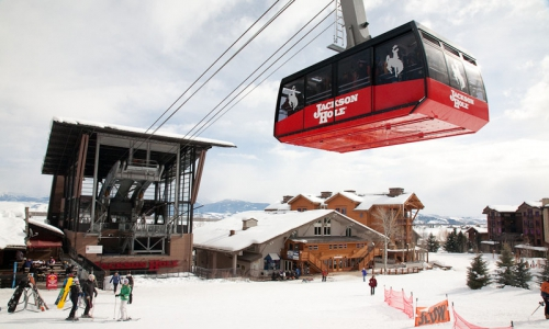 Tram at Teton Village