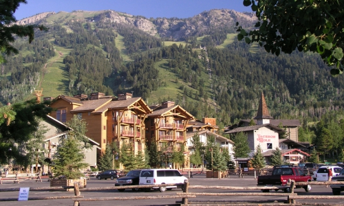 Teton Village in the Summer