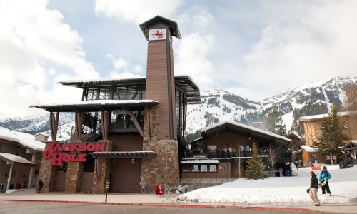 Tram Dock at Teton Village