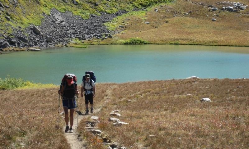 Teton Crest Trail Grand Teton National Park Hiking Trail Jackson Wyoming Backpacking