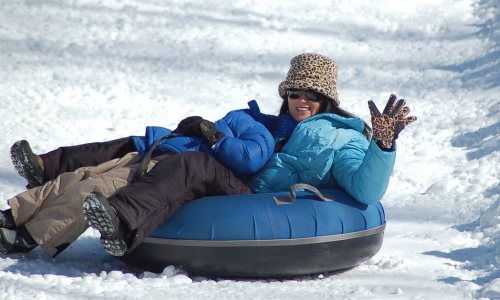 Snow Tubing at Snow King in Jackson Wyoming