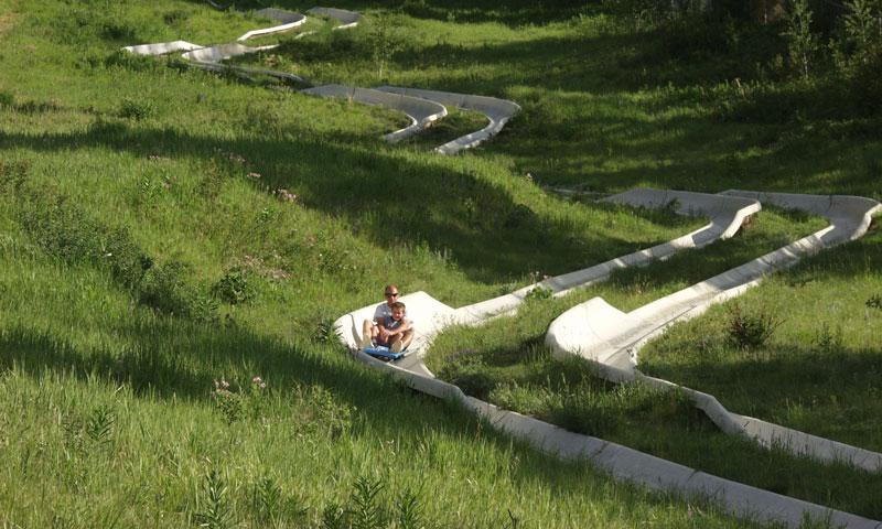 Alpine Slide at Snow King Resort