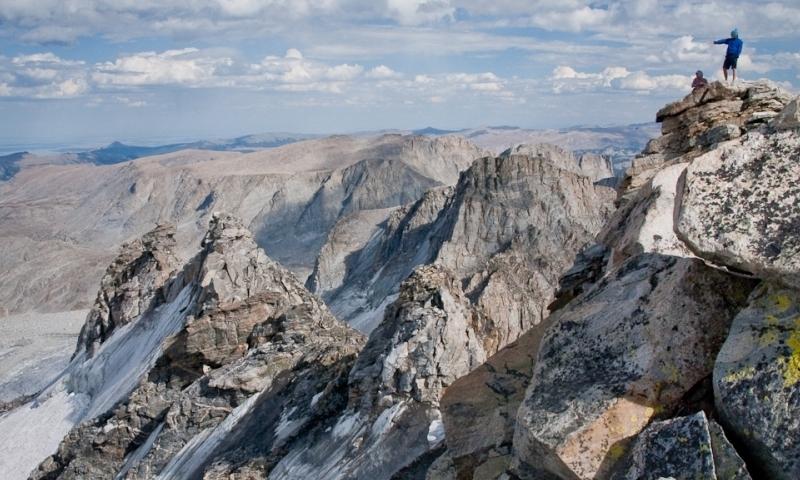 Wind River Mountain Range Wyoming Fremont Peak