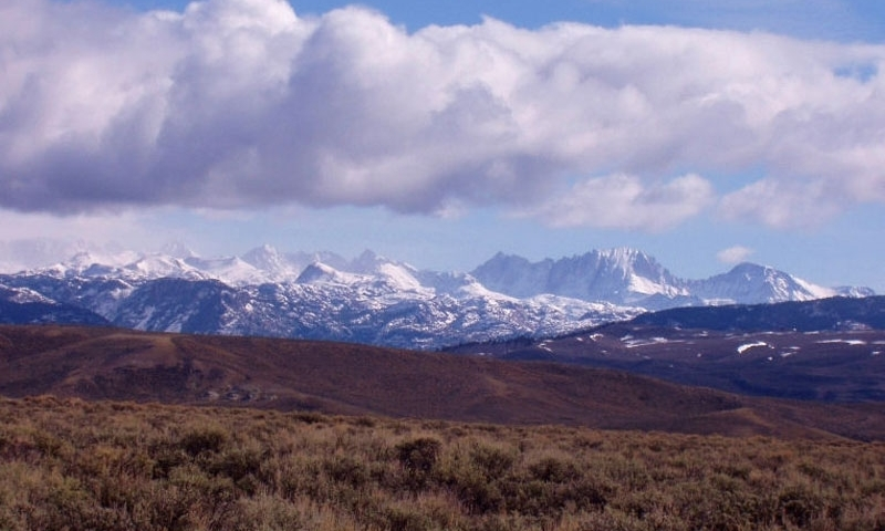 Wind River Range Mountains In Wyoming Alltrips