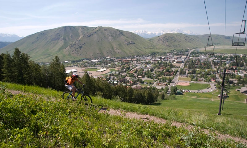Mountain Biking at Snow King Resort