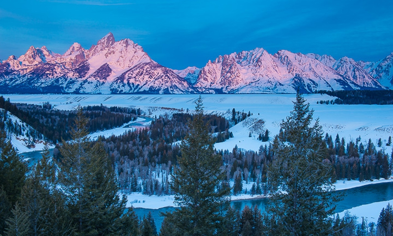 Teton Mountains In Jackson Hole Wyoming Alltrips