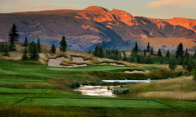 Shooting Star Golf Course near Teton Village