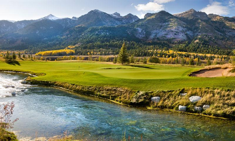Shooting Star Golf Course near Teton Village