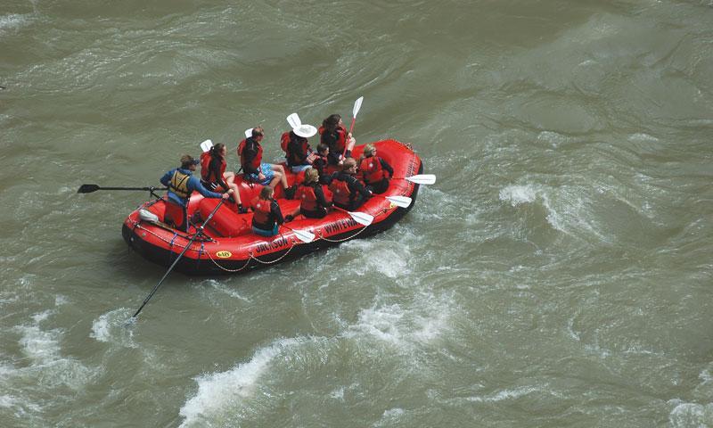 Snake River Canyon White Water Rafting