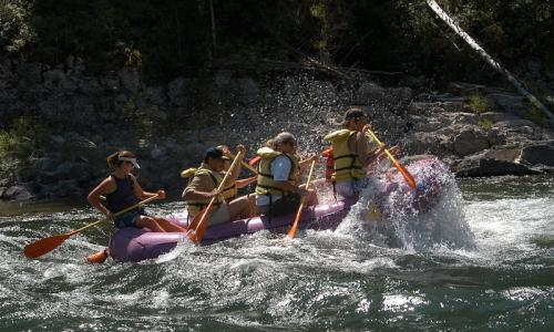 Jackson Hole Wyoming Whitewater Rafting