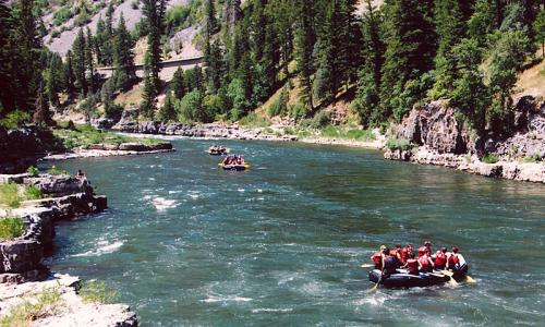 Jackson Hole White Water Rafting