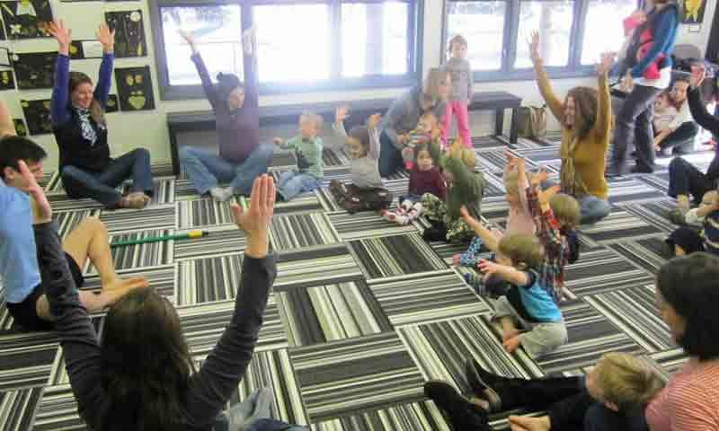 Yoga at the Jackson Hole Children's Museum
