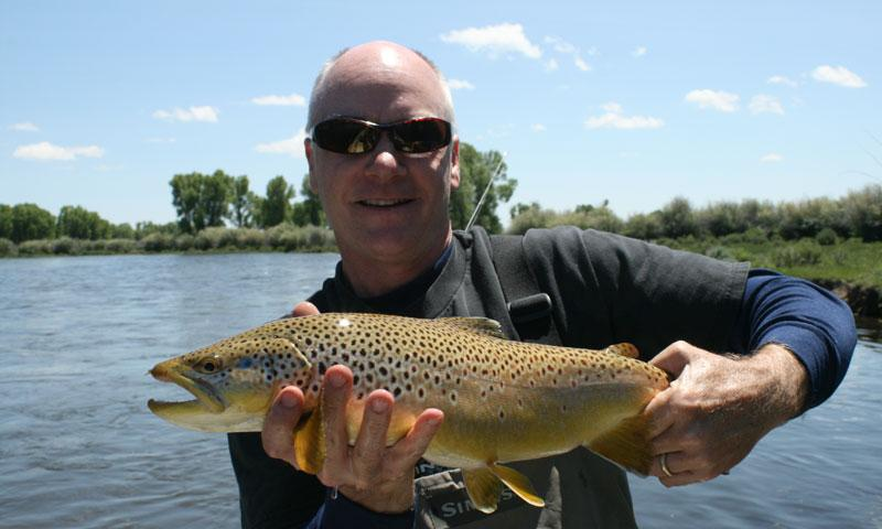 Fly Fishing on the New Fork River near Jackson