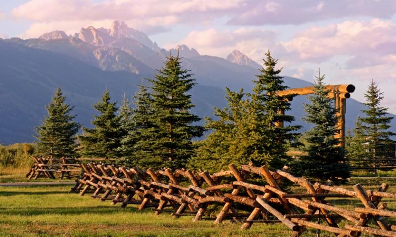 Jackson Hole Wyoming Grand Teton National Park Ranch