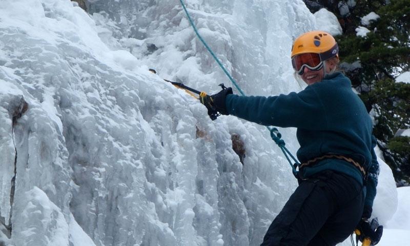 Jackson Ice Climbing