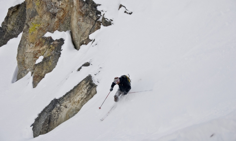 Granite Canyon Skiing Jackson Hole Mountain Resort Backcountry Wyoming Grand Teton Park Bj Hansen