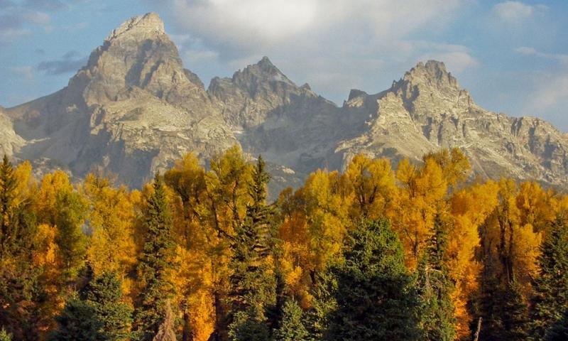 Grand Teton National Park Fall