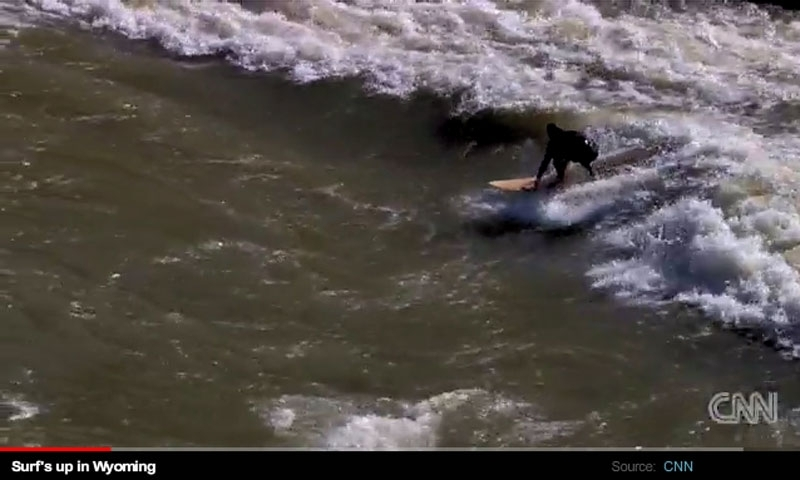CNN Video of Surfing the Snake River