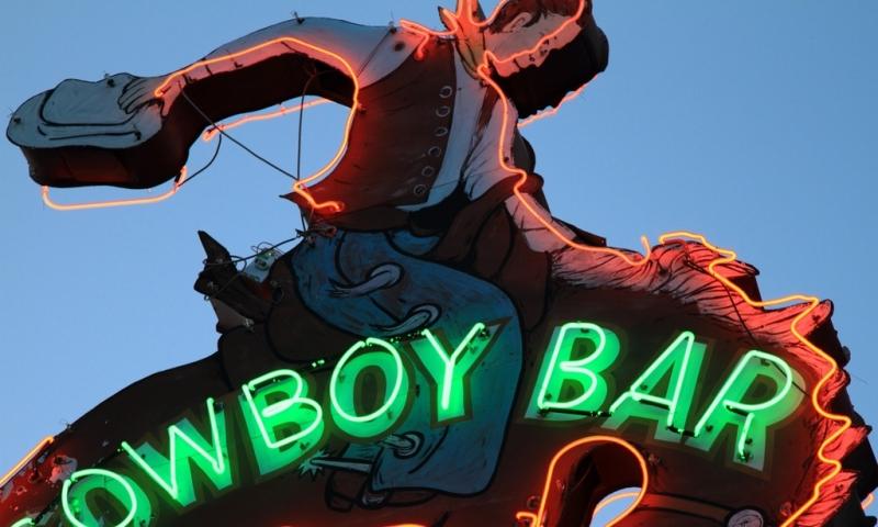 Million Dollar Cowboy Bar Jackson Wyoming