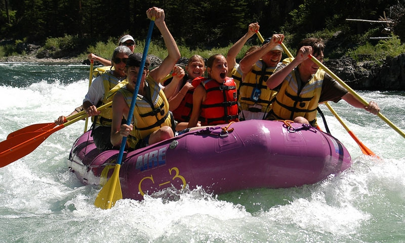 Whitewater Rafting the Snake River Canyon