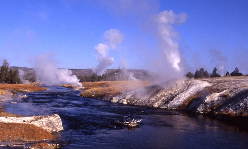Firehole River Yellowstone