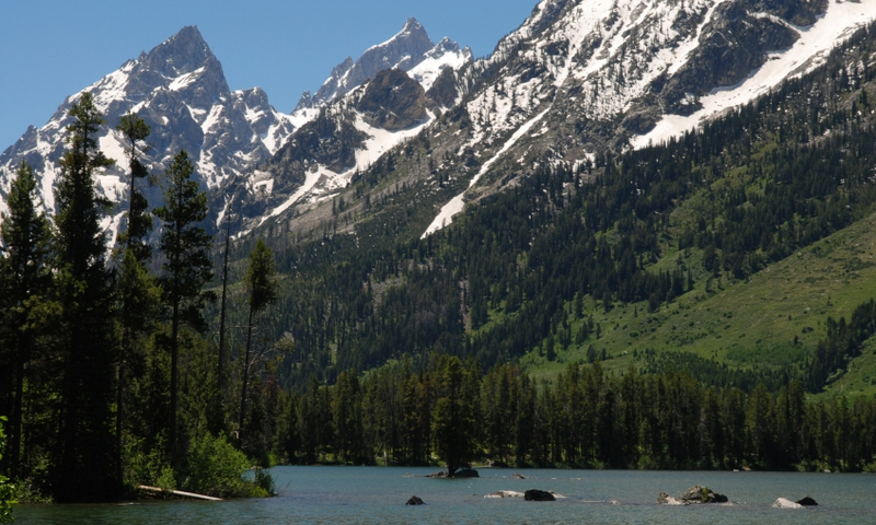 Leigh Lake Grand Teton National Park