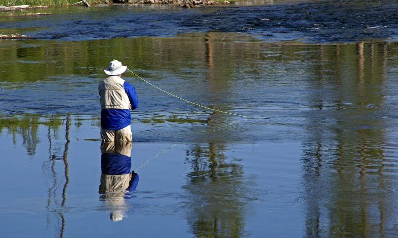 Jackson hole wyoming top 5 fishing destinations around for Yellowstone fly fishing