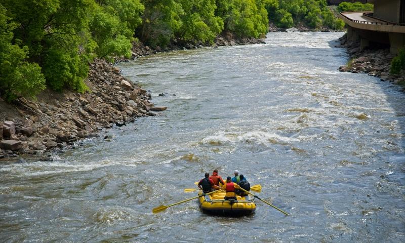 Colorado River Colorado Glenwood Canyon Whitewater Rafting