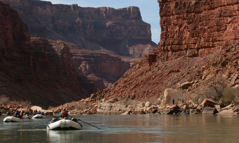 Rafting the Grand