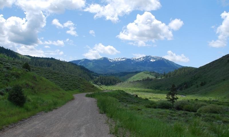 Star Valley Wyoming Mccoy Creek Caribou Peak