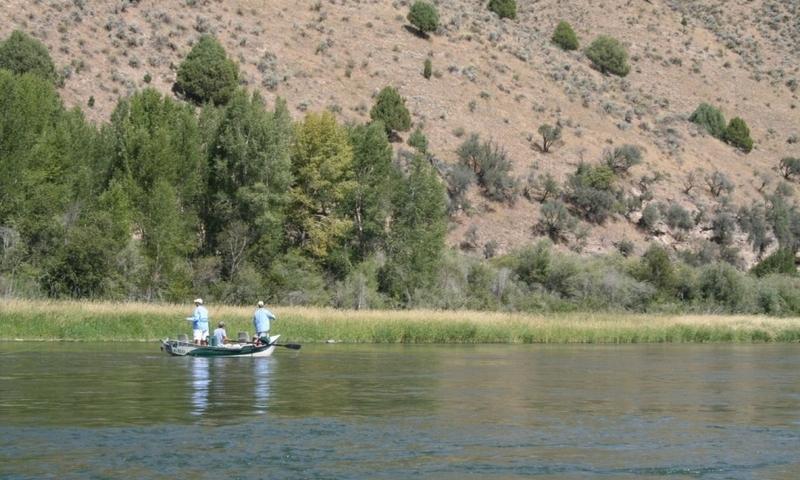 South Fork Snake River Wyoming Idaho Fishing