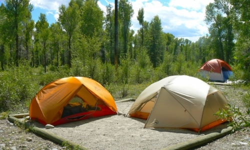 Tent of outdoor hexagonal wild luxury resort - Container