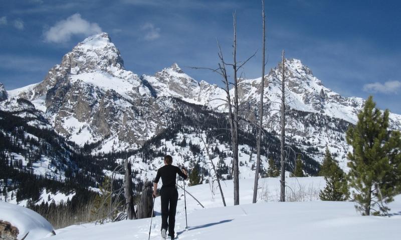 Cross Country Skiing Grand Teton Jackson Wyoming